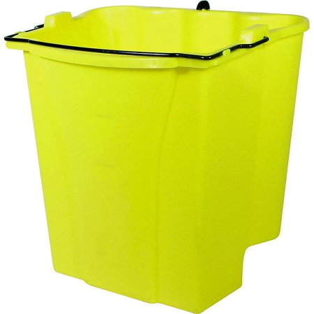 Rubbermaid Commercial WaveBrake 2.0 Wringer, Side-Press, Plastic, Yellow -RCP2064915