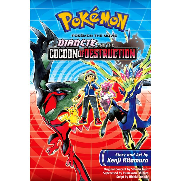 Pokemon The Movie Diancie And The Cocoon Of Destruction Ebook