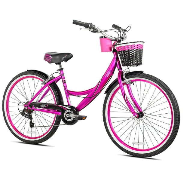 "Susan G Komen 26"" Cruiser Women's Bike, Hot Pink"