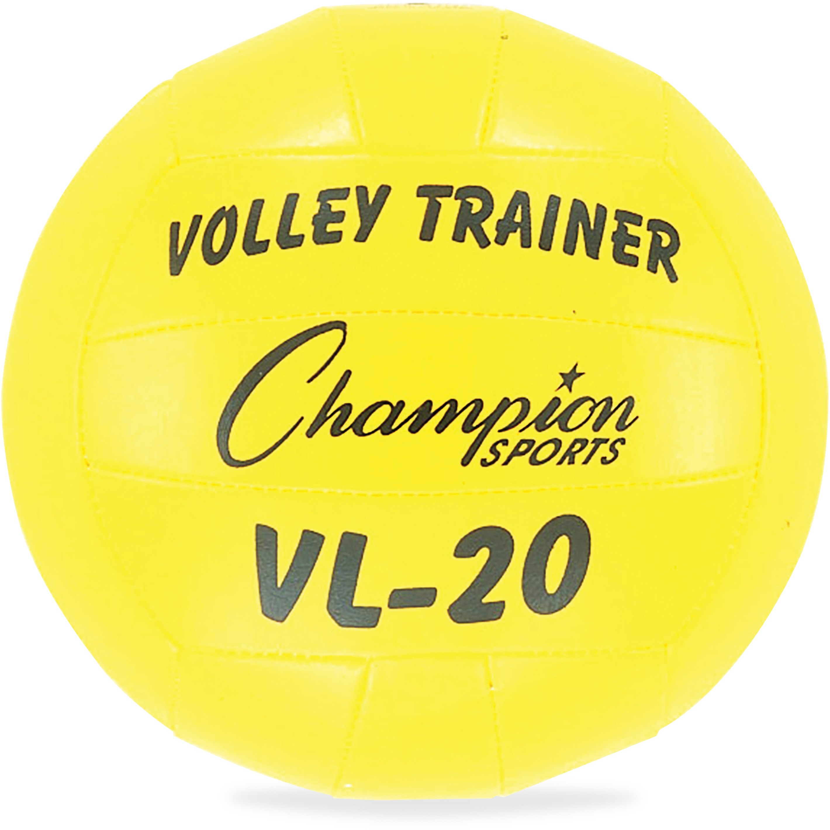 Champion Sports, CSIVL20, Volley Trainer Ball, 1 Each, Yellow