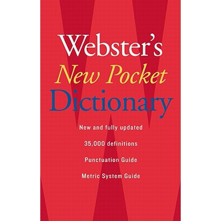 Webster's New Pocket Dictionary ()