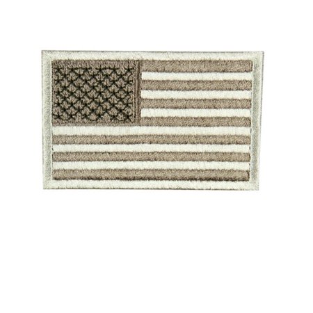 US Flag Patch Reverse Color- Desert