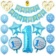 Balloon IST Birthday Wedding Baby Shower ONE BIRTHDAT PINK// BLUE ITS A BOY//GIRL