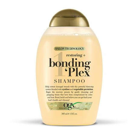 OGX Salon Technology Restoring + Bonding Plex Shampoo - 13 fl oz