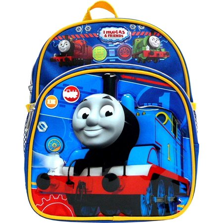 "Thomas the Train Engine 10"" Mini Backpack Boy's Book Bag"