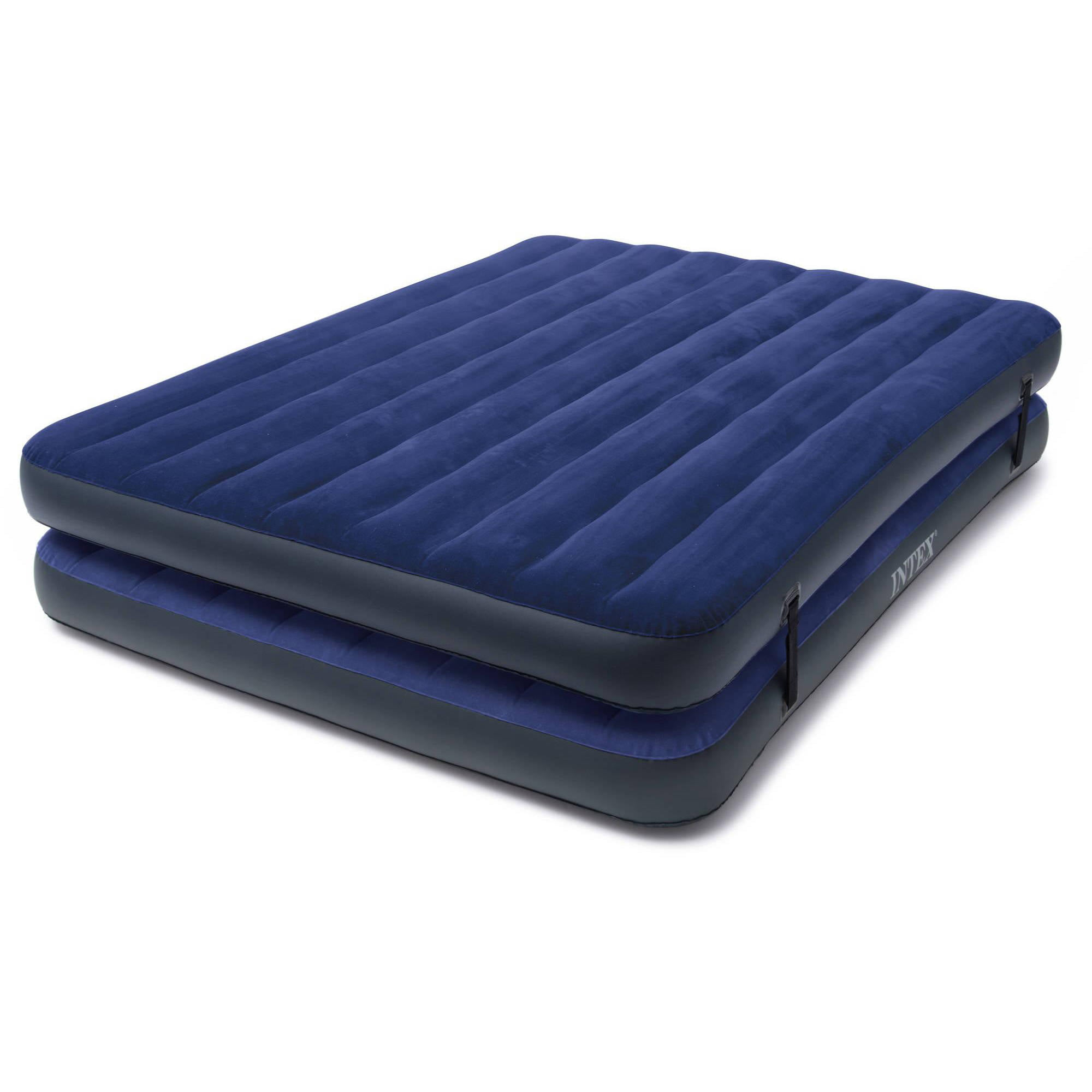 intex pin inflatable mattress airbed air bed queen classic downy