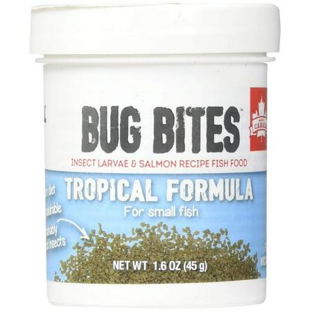 Bug Bites Granules for Tropical Fish Fluval - Small to Medium Fish