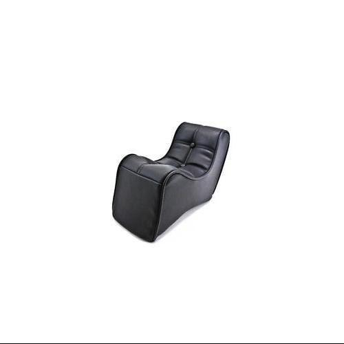 Black  DS-907040 Dag Specialties Scorpion Solo Rear Seat with Scorpion Stitch