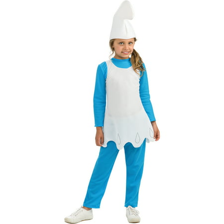 Smurfette Child Halloween Costume](Toddler Smurfette Costume)