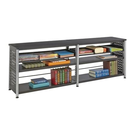 Bookcase Credenza (Scoot™ Credenza, Black)
