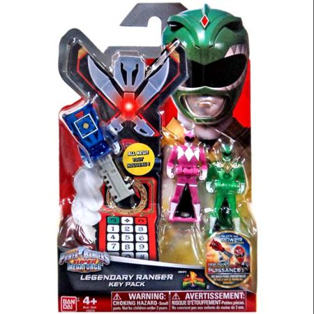 Power Rangers Super Megaforce Legendary Ranger Key Pack [Mighty Morphin] - Robo Knight Megaforce