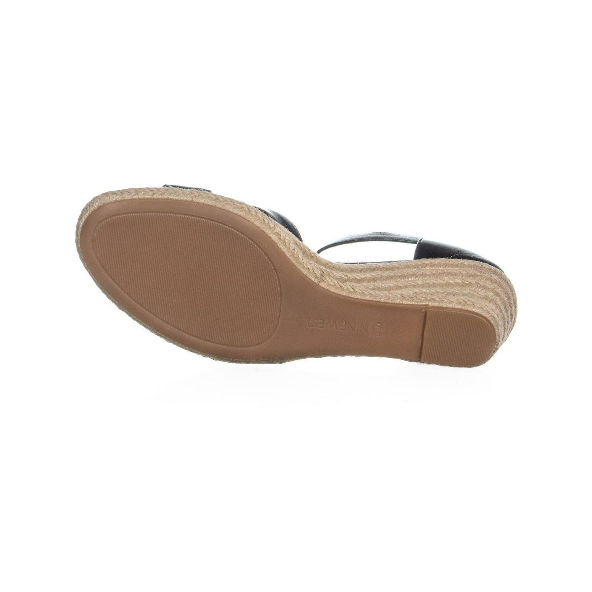 e4b29c30245 Nine West Jeranna Wedge Heel Espadrilles Sandals