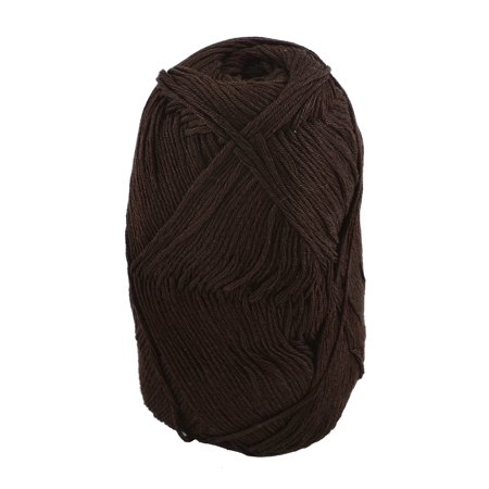 Cotton Clothing Hand Knit Sweaters - Cotton Hand Knitting Clothes Hat Sweater Crocheting Crochet Thread 50 Gram Brown