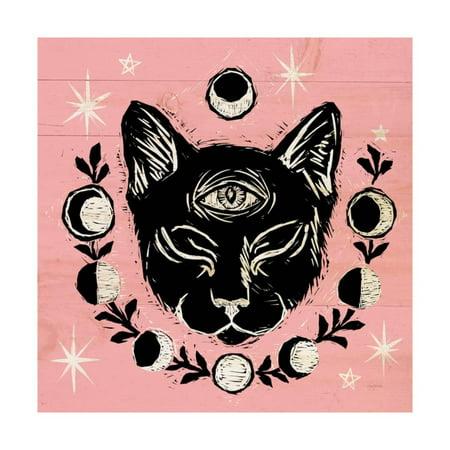 Halloween Iv Opening (Mystical Halloween Pink IV Print Wall)