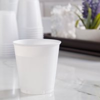 (2 pack) Great Value 3 oz Bath Plastic Cups, 100 count