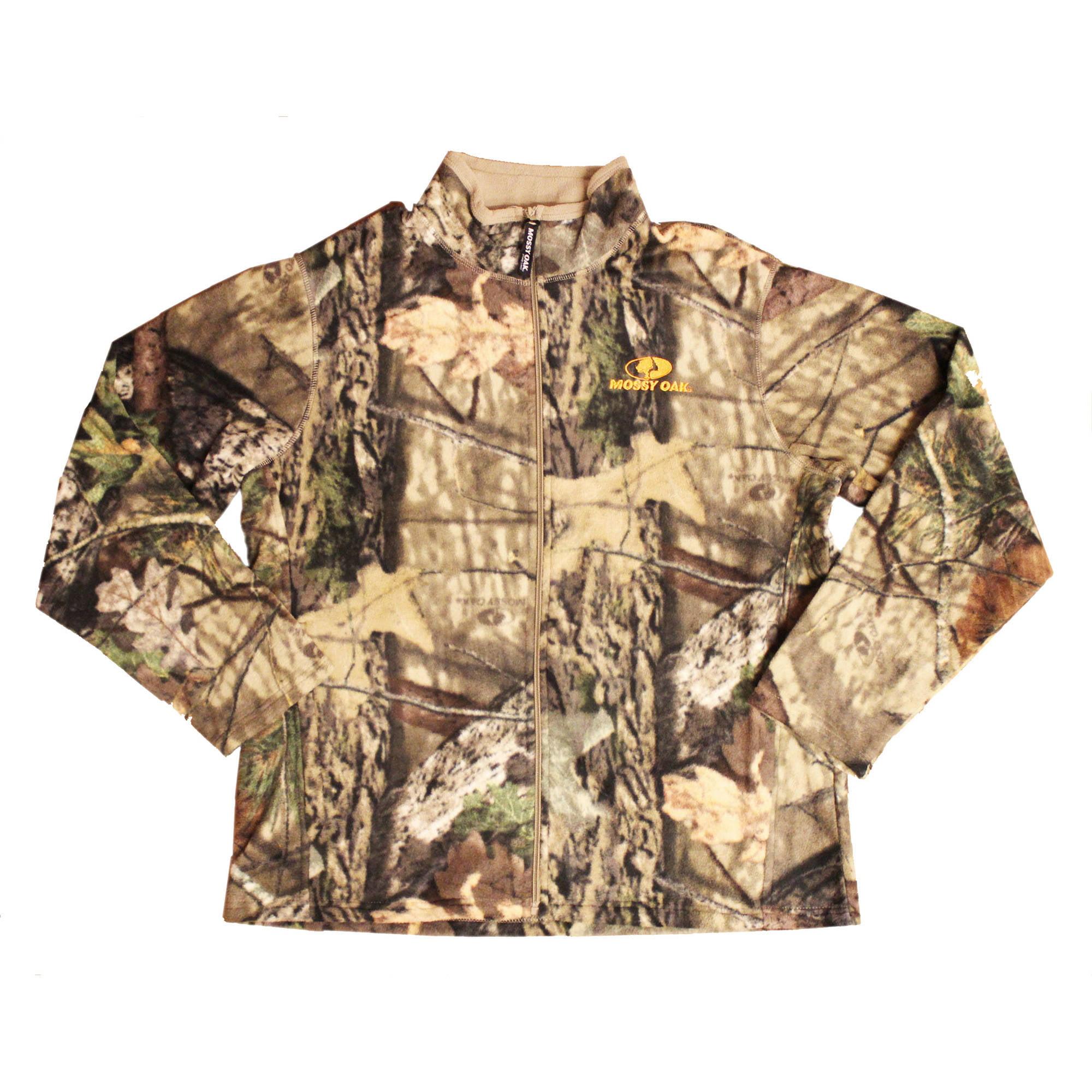 Men's Fleece Full Zip Jacket, MO Country