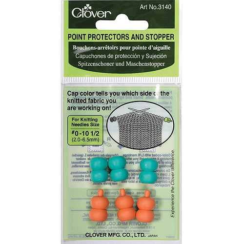 Clover Point Protectors and Stopper, For Sizes 0 and 10.5, 6-Pack