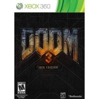 Doom 3 BFG w/Poster (Xbox 360) Bethesda Softworks, 93155171046