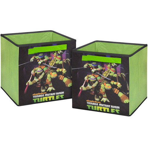Teenage Mutant Ninja Turtles 2-Pack Storage Cube