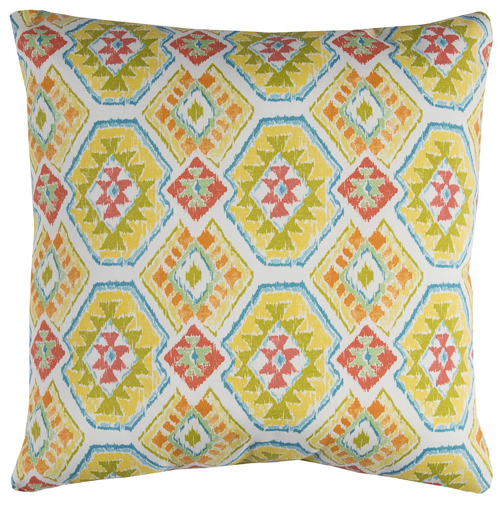 "Rizzy Home TFV069 22"" x 22""  Indoor/ Outdoor Pillow"