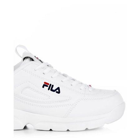 Fila 1SX60022 166 : Men's Disruptor SE Training Shoe, WhiteNavyRed (12 D(M) US)
