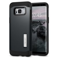 Spigen Slim Armor S8 Case with Air Cushion Technology and Hybrid Drop Protection for Samsung S8 (2017) - Metal Slate