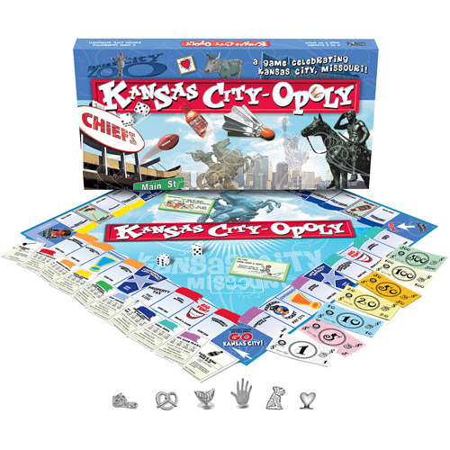 Late for the Sky Kansas City-opoly Game