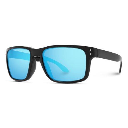 WearMe Pro - Premium Polarized Sport Mirror Lens Classic Square Style (Top 10 Polarized Sunglasses)
