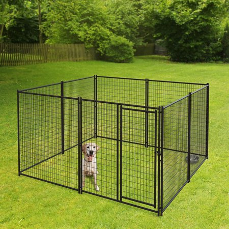 Pet Sentinel 6ft H x 10ft W x 10ft D Welded Wire Kennel Kit