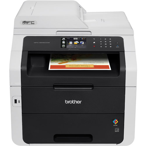 Brother MFC-9330CDW Digital Color All-in-One with Wireless Networking and Duplex Printing Printer/Copier/Scanner/Fax Machine