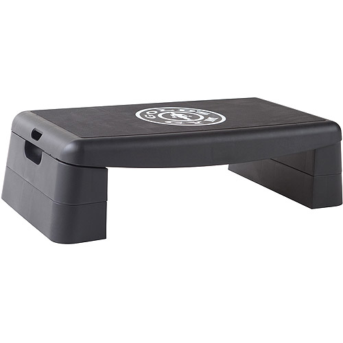 Goldu0027s Gym Multi Function Step Deck and Balance Trainer  sc 1 st  Walmart : gym step stool - islam-shia.org
