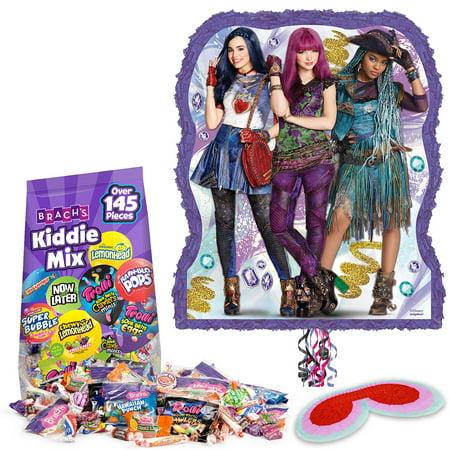 Disney Descendant Pull String Bag Pinata Kit - Party Supplies