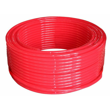 Id Pex Tube - 1/2-Inch Pex Tubing - 300 Feet of Water Polyethylene Tube Pipes - Blue Non-Barrier Flexible Durable Flow Coil Pipe - PEX-B 1/2