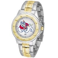 Suntime ST-CO3-FSB-COMPMG Fresno State Bulldogs-Competitor Two-Tone Watch