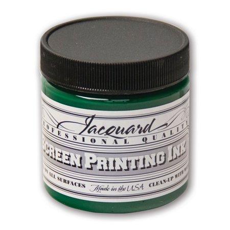 Jacquard Professional Screen Printing Ink, 4 oz., Yellow Green