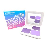 Models Own Myshadow Quad Powder Eyeshadow: Lavender Love 04 .07oz