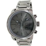 Men's Double Down DZ4215 Grey Stainless-Steel Quartz Watch
