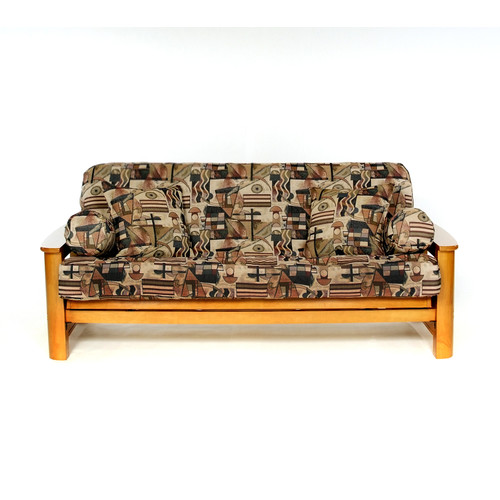 Lifestyle Covers Metro Box Cushion Futon Slipcover