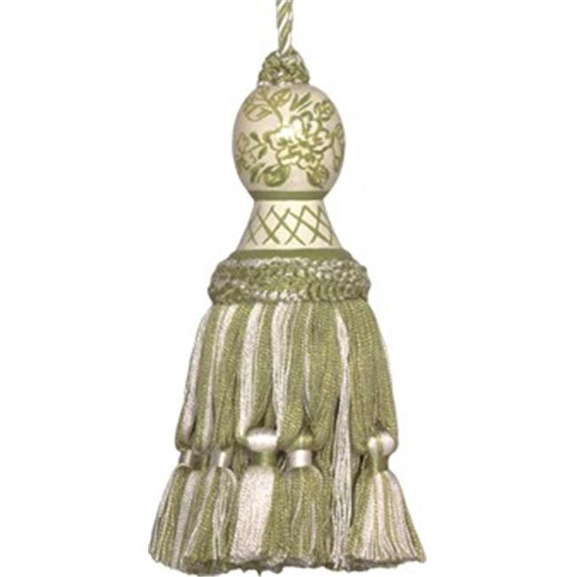 123 Creations Inch Provencal Toile - Hand Painted Tassel