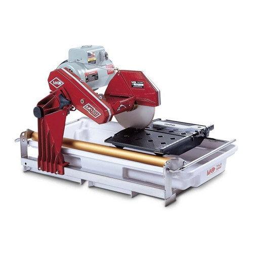 MK Diamond MK-101 1.5 HP 120 V 10'' Blade Capacity Electric Wet Cutting Tile Saw