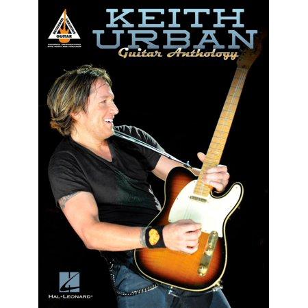 Hal Leonard Keith Urban Guitar Anthology TAB Songbook - Walmart.com