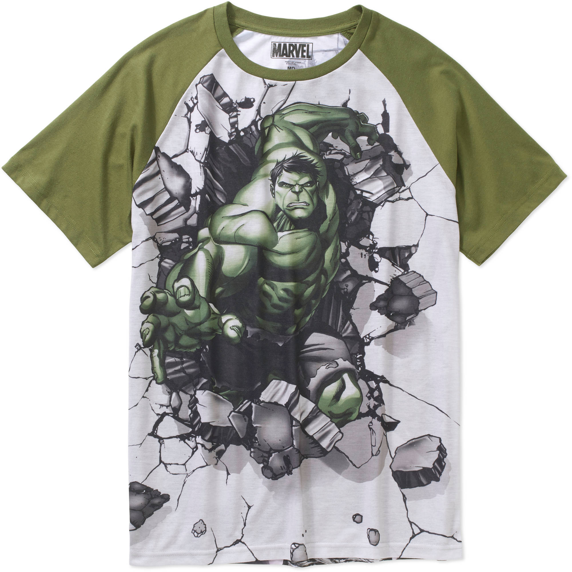 Marvel Hulk for Hire Men's Graphic Tee