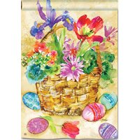 "Easter Beauty House Flag Holiday Decorative Banner 28"" x 40"""