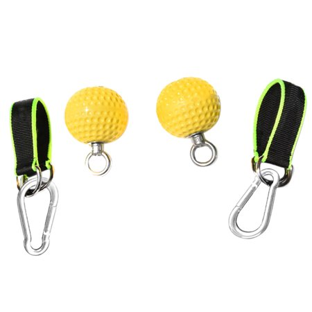 72mm/97mm Training Arm and Back Muscles Pull-ups Strengthen Ball Wrist Climbing Finger Training Hand Grip Strength Ball Non-slip Anti-skidding (Exercises To Strengthen Upper Back Muscles At Home)