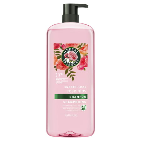 Herbal Essences Smooth Collection Shampoo with Rose Hips & Jojoba Extracts, 33.8 fl oz