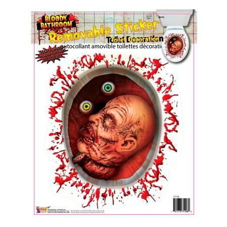 Halloween Toilet (Bloody Bathroom Toilet Seat)