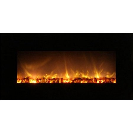 Modern Flames Fantastic Flame 43 No Heat Electric Fireplace On Off