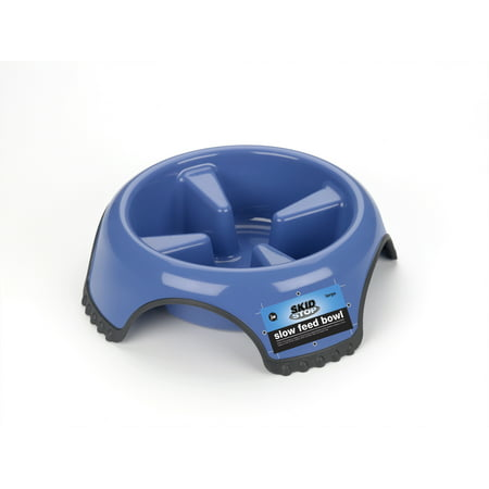 JW Pet Skid Stop Slow Feed Bowl, (Slowfeed Pet Bowl)