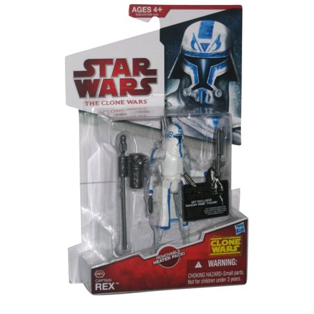 Star Wars Clone Wars Animated CW50 Captain Rex Action Figure