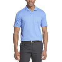 Deals on Van Heusen Mens Flex Striped Short Sleeve Polo Shirt